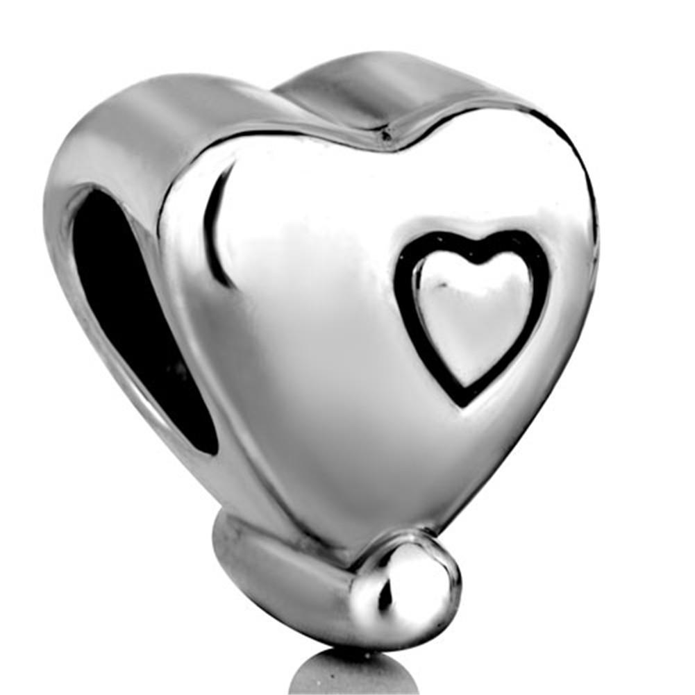 В Форме Сердца Я Люблю Тебя Европейский Шарик Подходит Пандора Chamilia Biagi Браслет