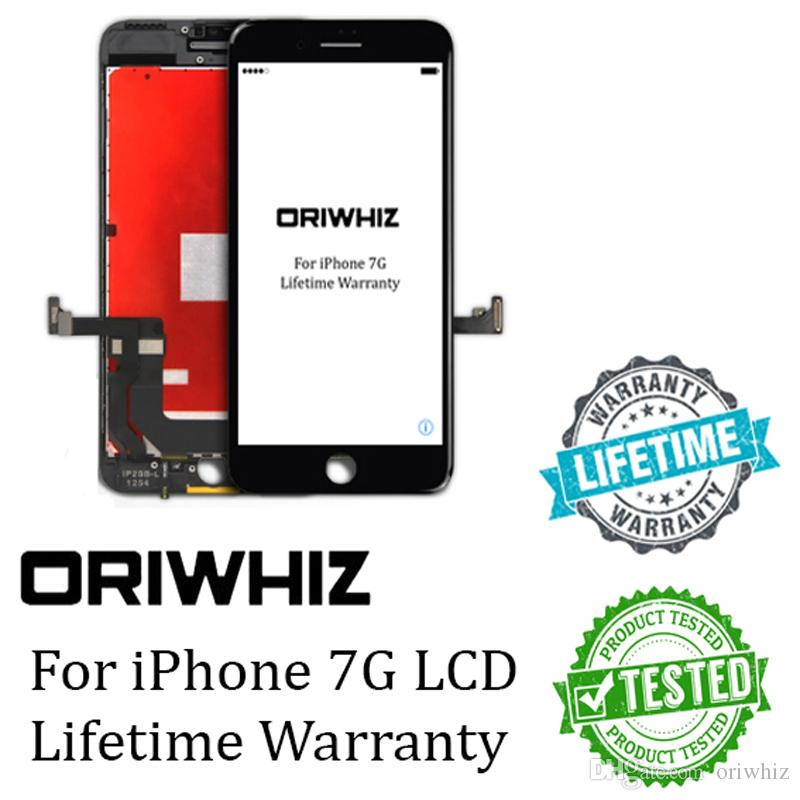 ORIWHIZ Black and White Color For iPhone 7 LCD Touch Screen 100% Test No Dead Pixels Top Quality Digitizer Assembly Support Free DHL
