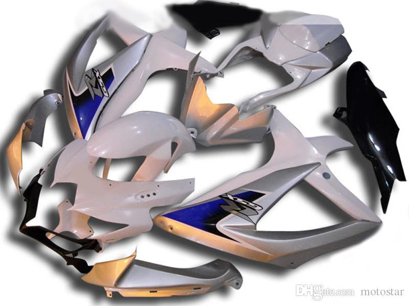 Come le carenature ABS originali ad iniezione per SUZUKI GSXR 600 750 2008 2009 K8 GSXR600 GSXR750 08 09 10 GSX-R 600 750