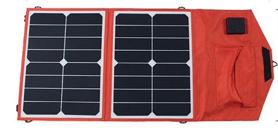 SUNPOWER 36 Watt Flexible Foldable Solar Panel Charger+10A Solar Controller for 12V Car/Boat Battery+Solar Phone/Laptop Charger