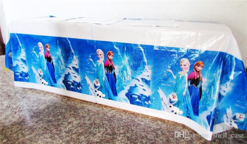 navidad congelado pe rectangular mantel para el festival de cumpleaos fiesta de cumpleaos del banquete