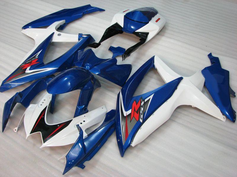 Carénage d'injection pour SUZUKI GSXR 600 750 2008 2009 2010 K8 GSXR600 GSXR750 08 09 10 GSXR 600 750 Kit de carénage