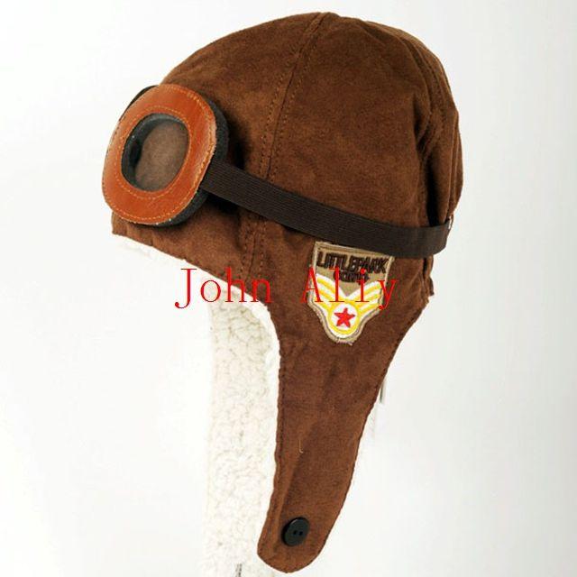 2 Colours for You to Choose Fashion Unisex Baby Toddler Kid Children Cute Warm Pilot Aviator Winter Cap Earmuff Hat