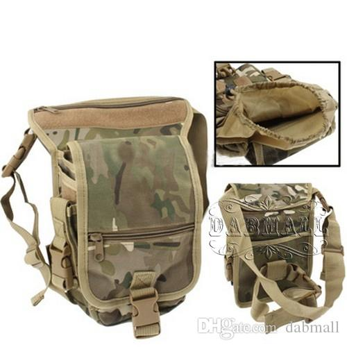 Фото: Тактическая сумка с креплением на пояс и ногу для активного отдыха.