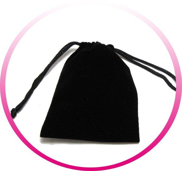 Envío gratis 100pcs / lote Fábrica de fábrica Tamaño al por mayor 7 * 9cm Bolsa de terciopelo nuevo para gemelos / pendientes / colgante / regalo