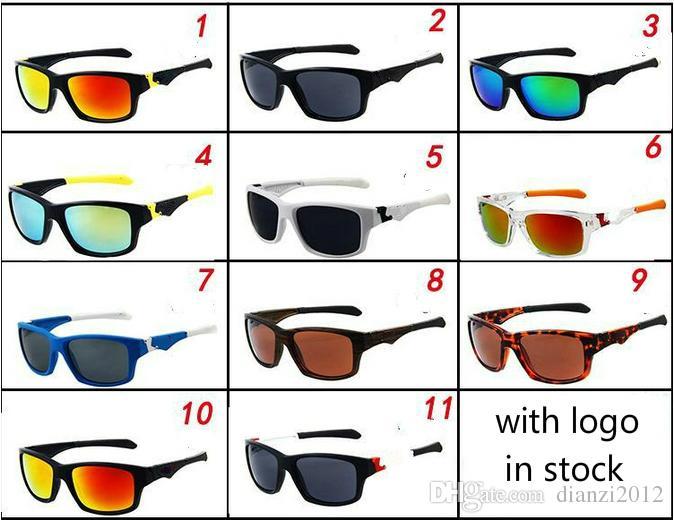 النظارات الشمسية الجديدة للرجال العلامة التجارية مصمم النظارات الشمسية الصيف احدث اسلوب النظارات 11 الألوان الرياضة في الهواء الطلق الرجال النساء الدراجات نظارات freeshipping