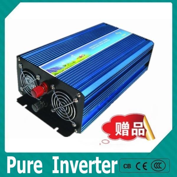 Direto da fábrica, inversor puro da onda de seno de DC12V-AC240V 1500W, poder máximo 3000W fora do inversor da grade