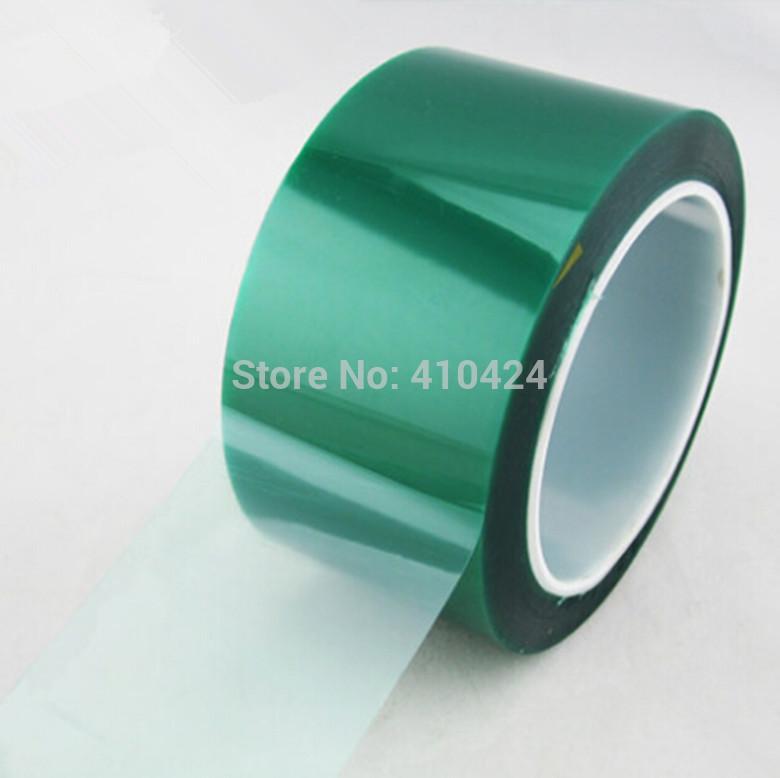 50мм * 33м термостойкого ПЭТ зеленый ленты для маскировки защитных термостойких того, лента 18no$трек
