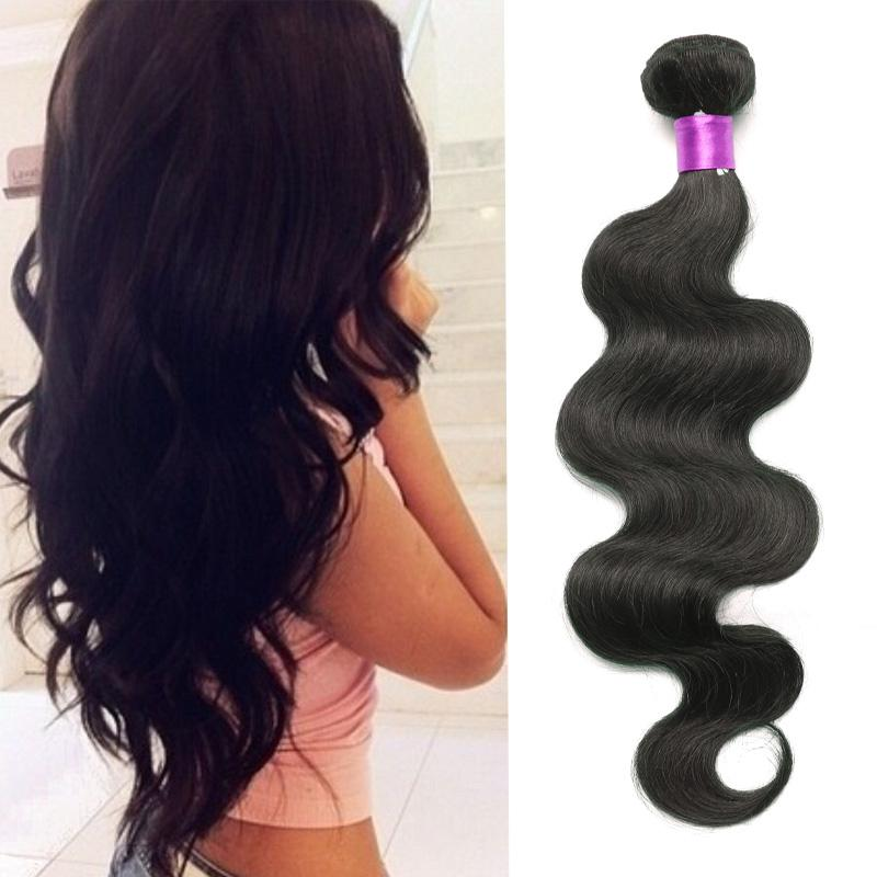6а бразильский волна тела девственные человеческие волосы 3 пучки дело естественный черный бразильский девственные волосы волна тела волос утки на продажу топ наращивание волос