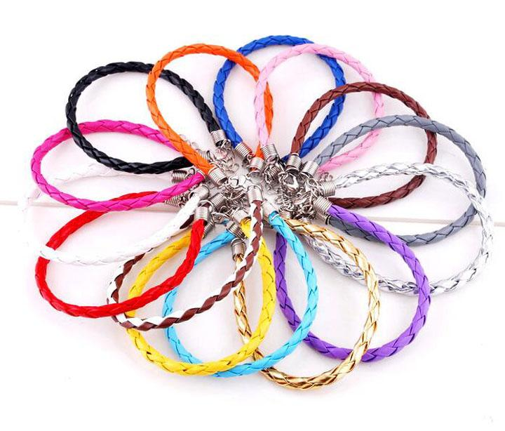 Hot Sale Special Offer Infinity Bracelet Fashion Leather Braided Charm Bracelets For Women Girl Jewelry Wholesale Free Shipping - 0028DR