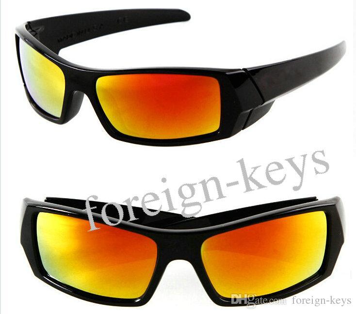 dos homens dos óculos de sol das mulheres SUN vidro de alta qualidade Os óculos Rainbows Lens Marca Designer Sport Sunglasses 10pcs / lot.
