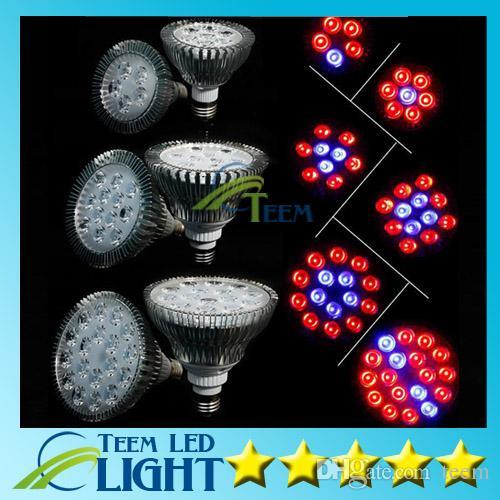 Full Spectrum LEVOU Crescer Luz 15 W 21 W 27 W 36 W 45 W 54 W E27 Crescer Lâmpada PAR38 PAR30 Lâmpada Flor Planta Sistema de Hidroponia luzes 10
