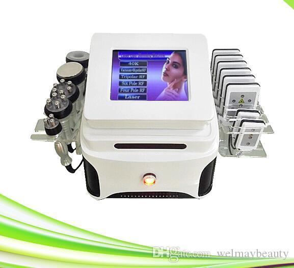 6 in 1 Vakuum Butt Erweiterung Funkfrequenz RF Facelifting Vakuum Kavitation abnehmen Maschine Ultraschall Kavitation System