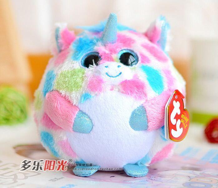 Stuffed animals big eyes unicorn doll plush toys cute gift for children one piece