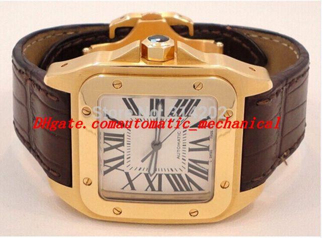 Montres de luxe d'usine de fournisseur de montres Sapphire 2657 W20071Y1 100 montres automatiques de montres pour hommes