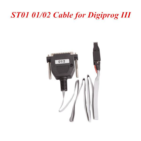 جديد رخيصة Digiprog 3 ST01 CABLE ST01 01/02 كابل ل Digiprog الثالث