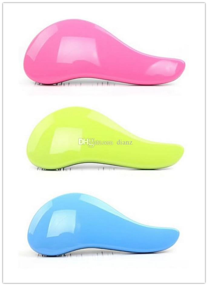 Magic Detangling Handle Tangle Shower Hair Brush Comb Salon Styling Tamer Tool