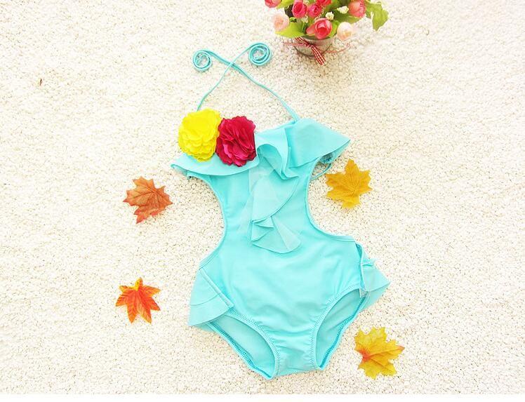 2020 어린이 귀여운 아이 소녀 원피스 수영복 아기 소녀 해변 마모 어린이 의류 BH1733 수영복