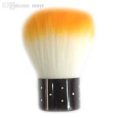 Wholesale-1pc Bunte Nail Art Salon Acryl UV Gel Staub Reiniger Pinsel Werkzeuge für Dekorationen