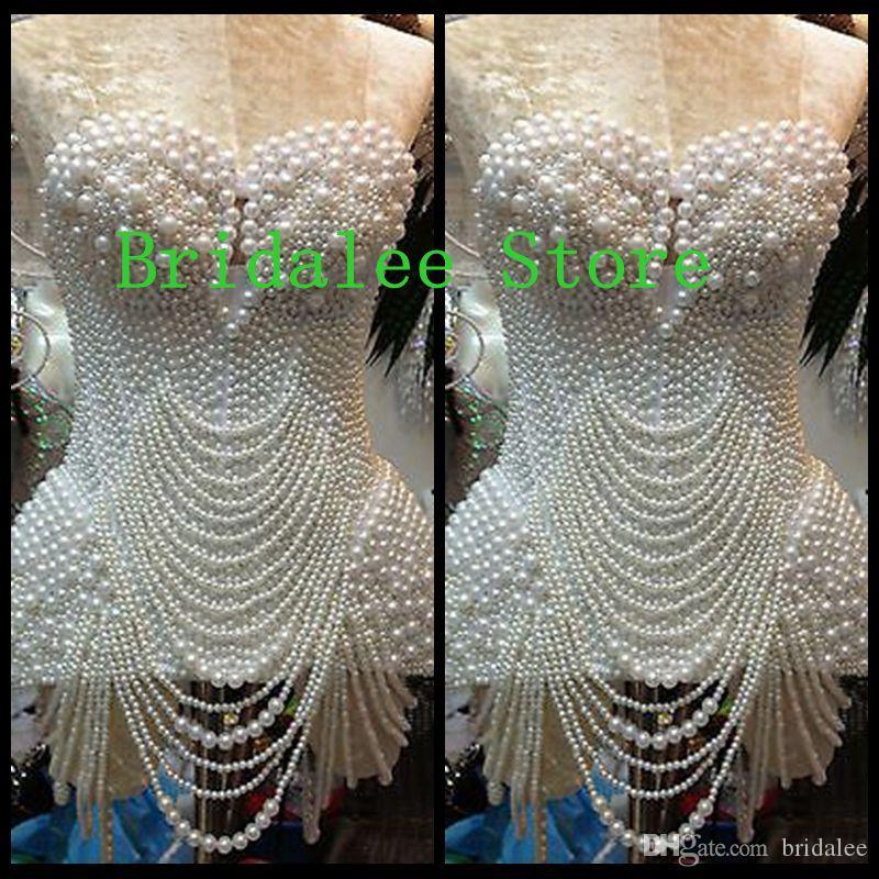 Beautiful White Pearl White Prom Dresses Mini Sweetheart Sleeveless Short Dresses Party Evening 2016 New Design