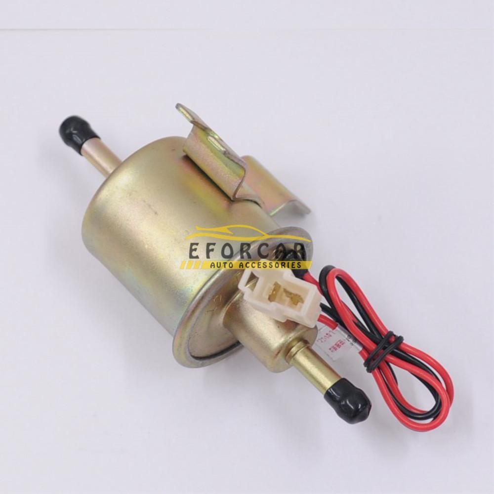 Car 12V Diesel Petro Gasoline Electric Fuel Pump Supply Low Pressure Electric Fuel Pump HEP-02A Fuel Pump Types