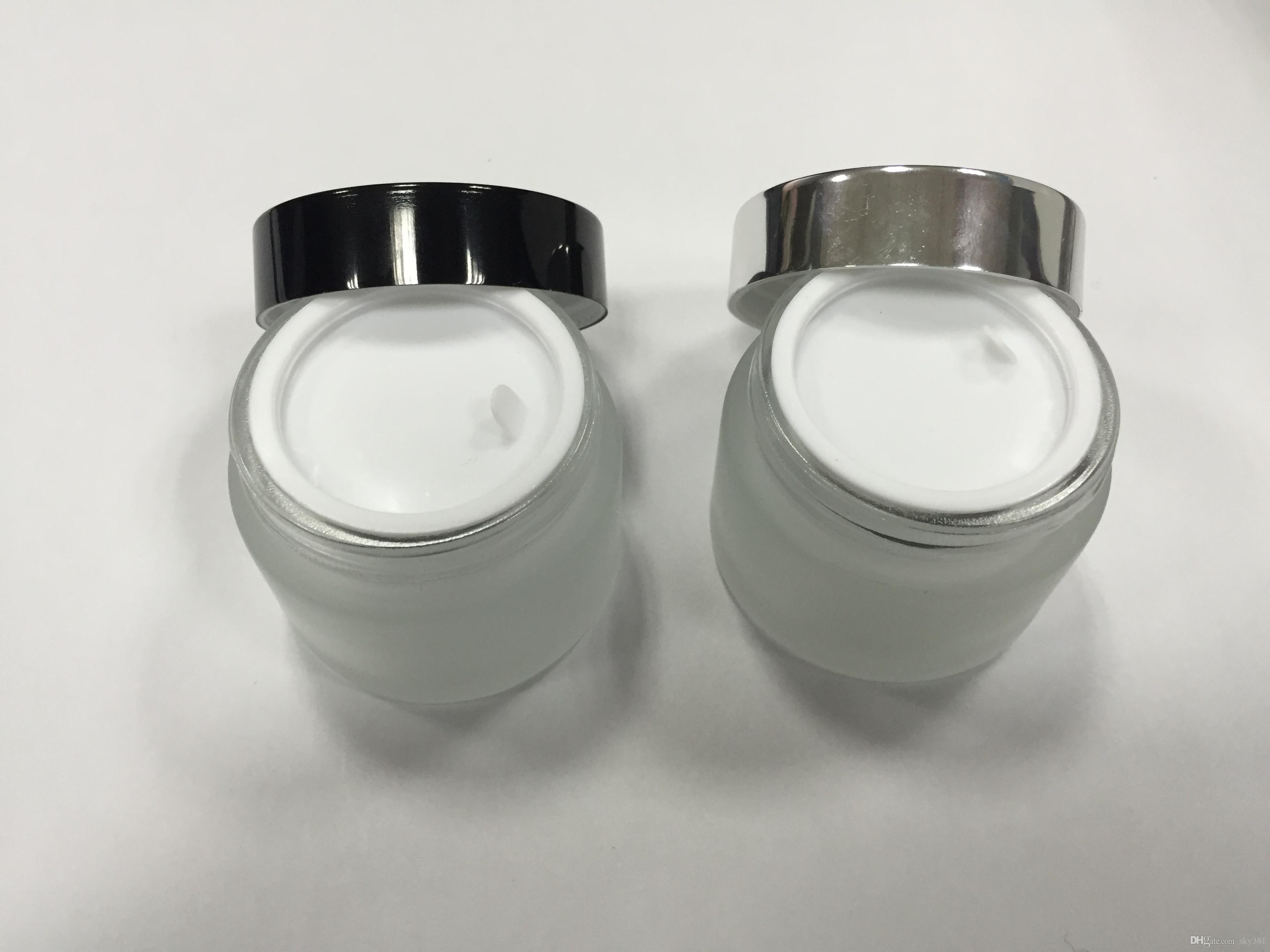 Ücretsiz kargo - 50g don cam krem kavanoz, cam kap, kozmetik ambalaj