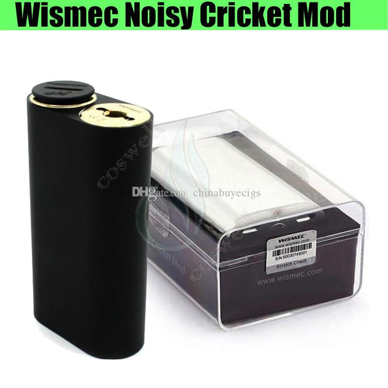100%authentic Wismec Noisy Cricket Mod Smpl Button Hybrid Bottom ...