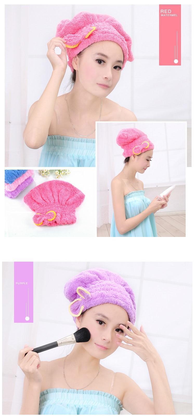 Hair Drying Hat