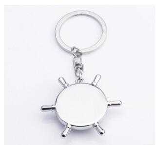 2015 Alloy Nautical helm compass keychain Fashion Key Chains Charms Keychains novelty key rings small items best selling items