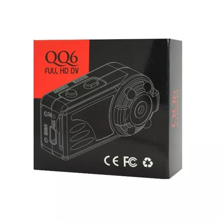 New arrival Smallest Full HD 1080P 720P Mini DV DVR Camera Camcorder IR Night Vision Motion Detect DVR QQ6 MINI DV (22)