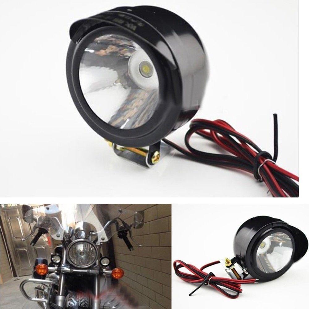 12V-80 V Moto Bike Faro Super Bright Spot Light Electric Light Lights Auto Reversione leggera Moto Modifica lampada 5W