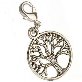 necklaces charms for diy making jewelry with lobster clasp antique silver plant life of tree new fashion jewelry accessories supplier 150pcs