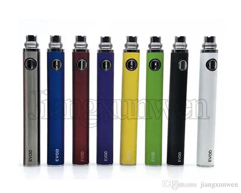 Batteria EVOD Batteria 650 900 1100 mah e sigaretta Vaporizzatore eGo 510 discussione per EVOD MT3 CE4 atomizzatore serbatoio Vape penna Ecig Batterie