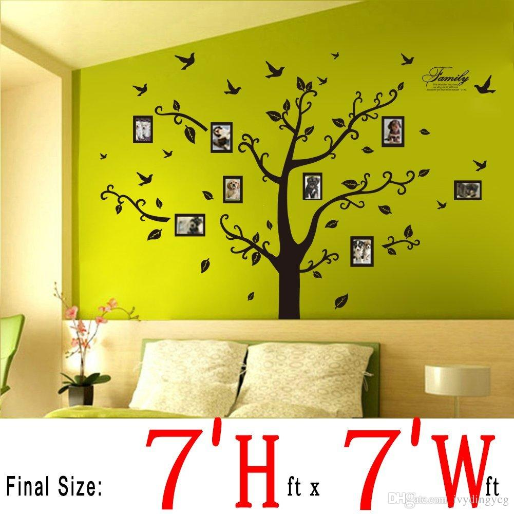 Comfortable Stick On Tree Wall Decor Pictures Inspiration - The ...