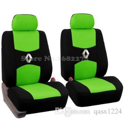 2 front seat Universal car seat cover Renault Koleos megan Nuolaguna latitude wind Lang landscape Thick car accessories sticker