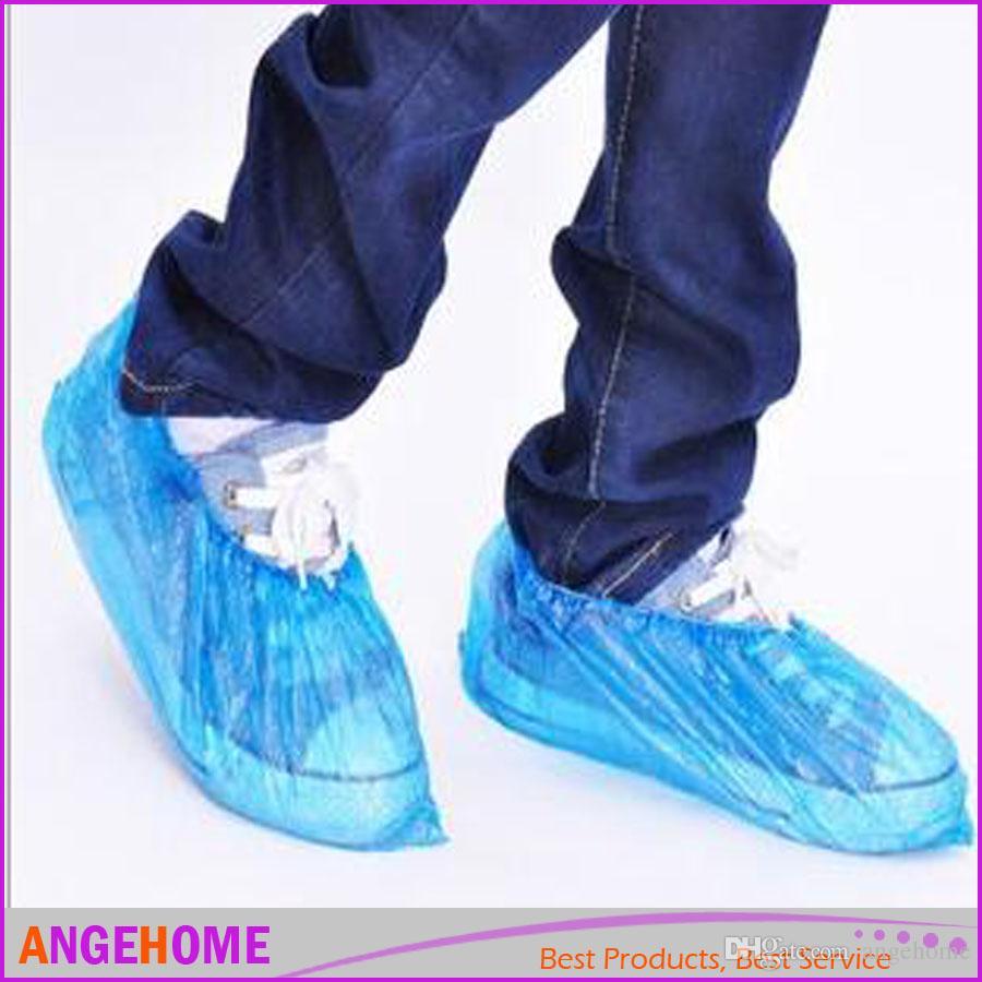 Neu Überziehschuhe Einwegüberschuhe Überschuhe Schuhe für den Bodenschutz blau