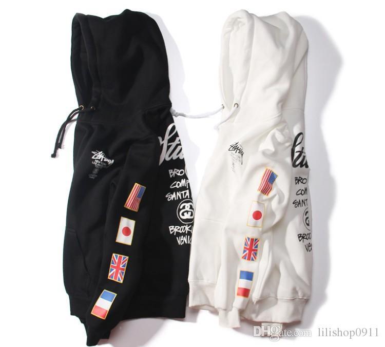 New 2017 Designs hoodies ST World Tour Paint Colorful Splash-ink Unisex Sweats Tops Couples Hoodies Fleece Bird OVO Drake D7925