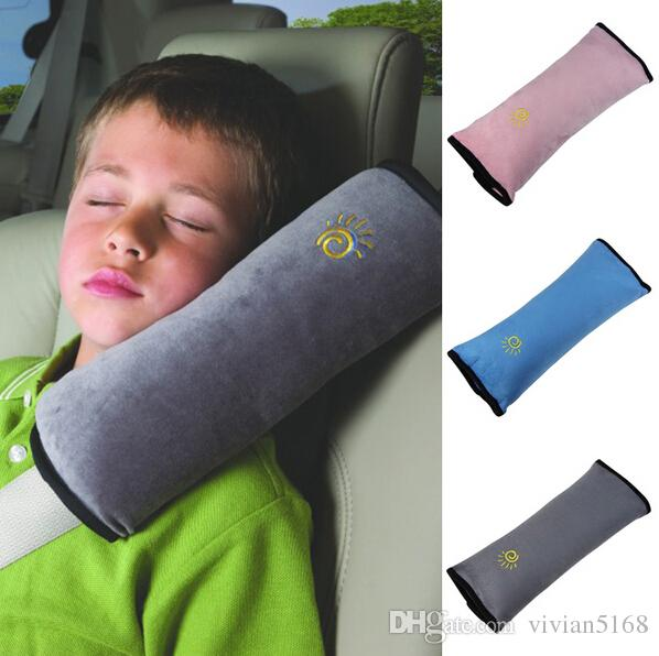 아기 어린이 자동차 자동 안전 좌석 벨트 소프트 하네스 어깨 패드 커버 어린이 보호 커버 쿠션 지원 베개 좌석 쿠션