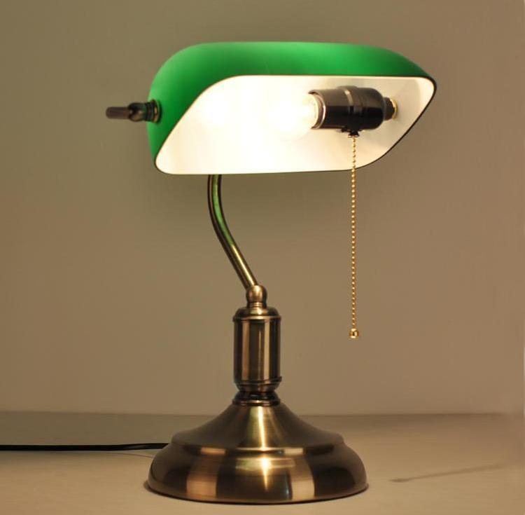 Wondrous 2019 Antique Bronze Desk Lamps Traditional Table Lamps Green Shade Reading Light Green Glass Adjustable Task Desk Lamp Brass Lighting From Download Free Architecture Designs Aeocymadebymaigaardcom