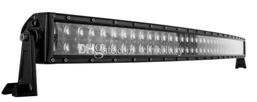 Barre de 52 pouces Osram LED Barre de lumière incurvée 500W Spot Spot Combo 100X5W OSRAM 12V24V 4WD Jeep ATV Camion Tracteur 4x4 LED Barre De Lumière Offroad