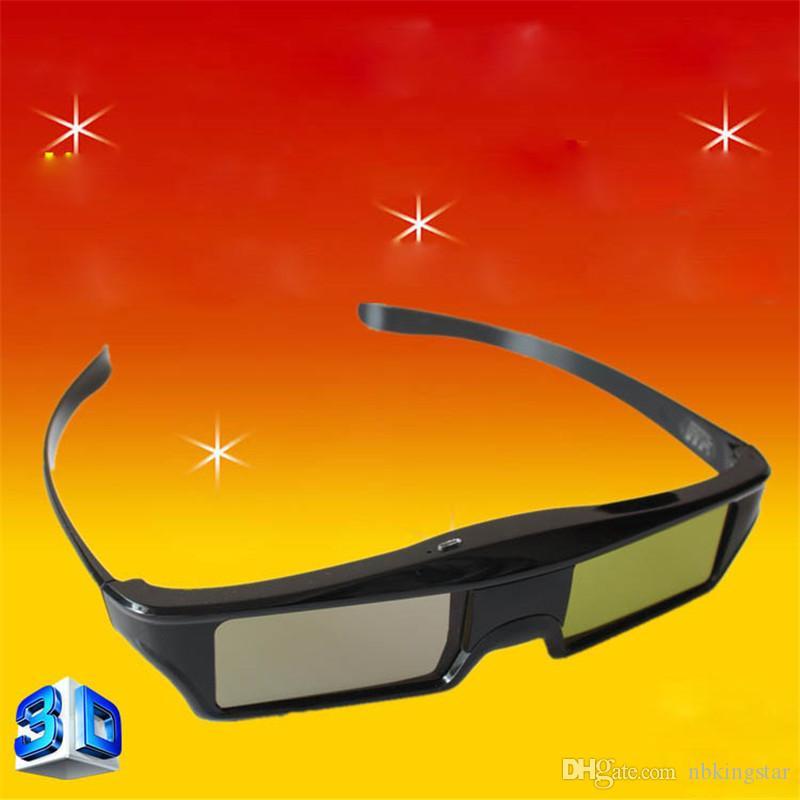 Bluetooth 3D Active Shutter Glasses DLP Link Proiettori Occhiali 3D per Optoma Sharp LG Acer BenQ Proiettori Gafas 3D