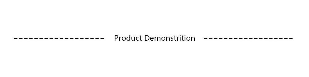 6. Product Demonstrition