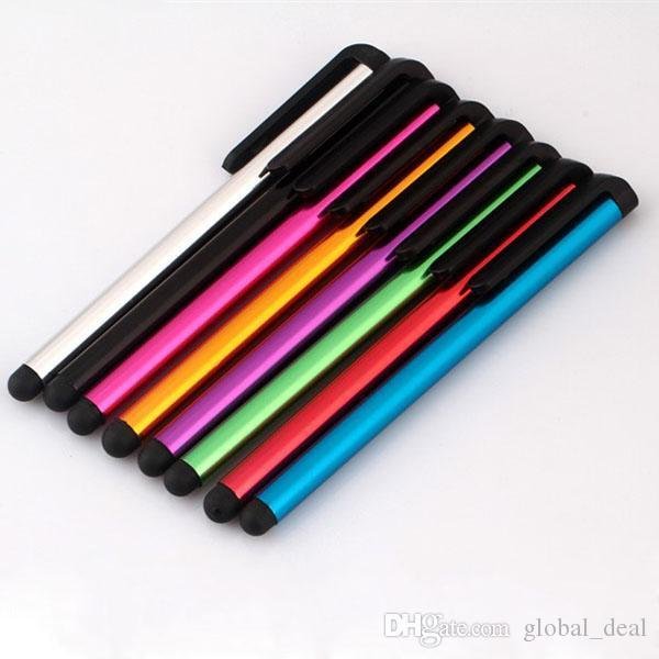 Kapasitif Stylus Kalem Dokunmatik Ekran Kalem Için ipad Telefon / iPhone Samsung / Tablet PC DHL Ücretsiz Kargo