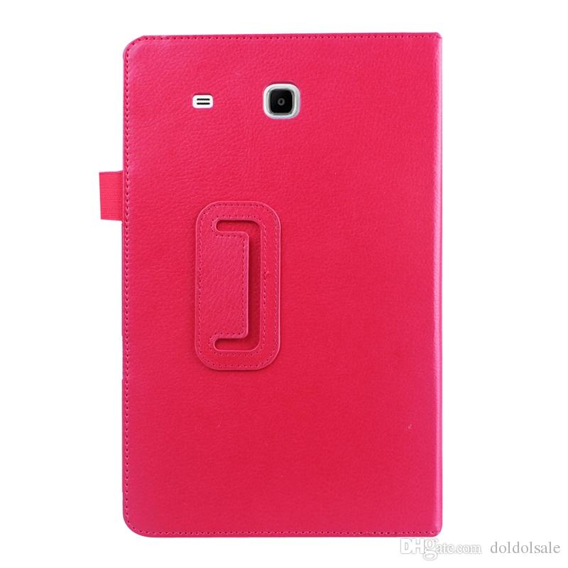 1pc For Samsung Tab E 9.6 T561 PU Leather Cover For Samsung GALAXY Tab E 9.6 T560 SM-T560 Case