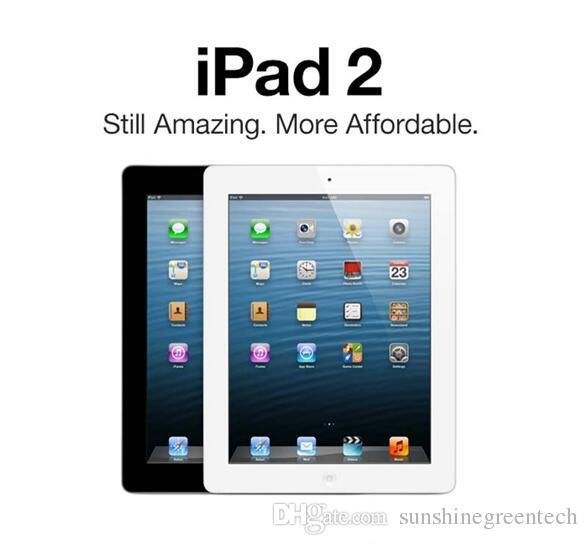 """iPad Yenilenmiş% 100 Orijinal Apple iPad2 16GB 32GB 64GB Wifi iPad 2 Apple Tablet PC 9.7"""" IOS Tablet DHL yenilenmiş"""