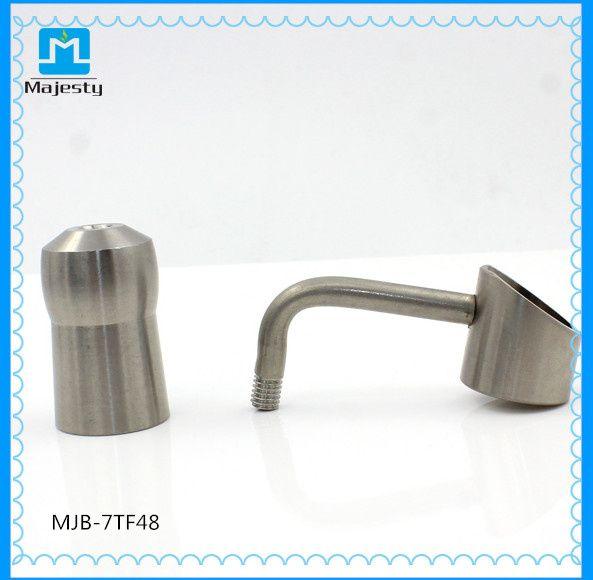 90% титана ногти женский 14 мм 18 мм Domeless Титана ногти класса 2 Титана ногтей для курения стекла бонги