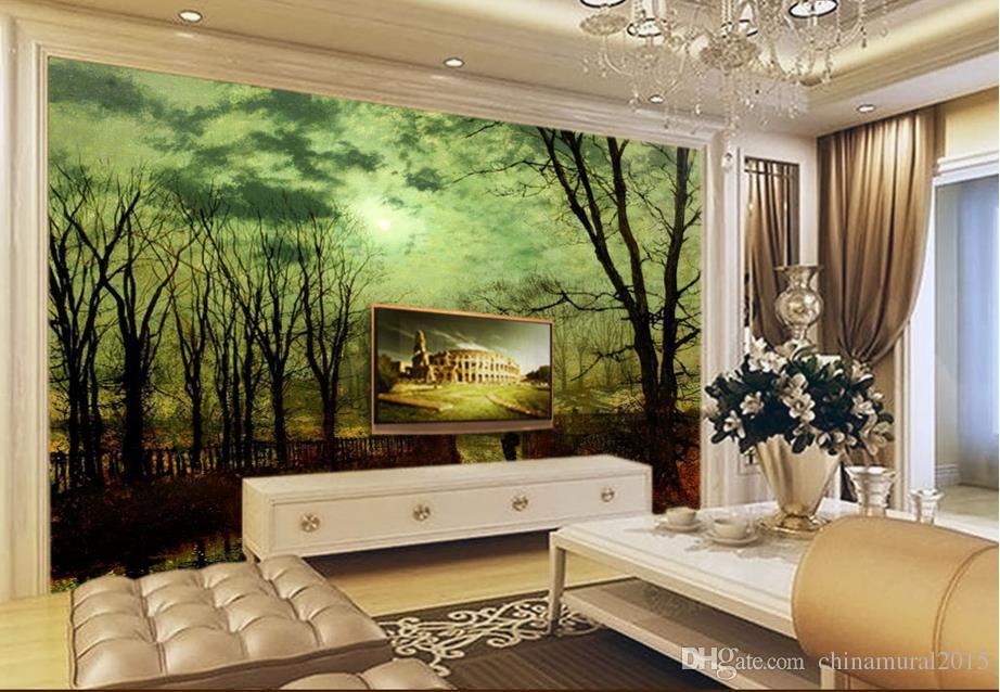 duvar duvar fotoğraf kağıdı Batılı ünlü tablosu arka plan duvar 3d özelleştirilmiş duvar kağıdı