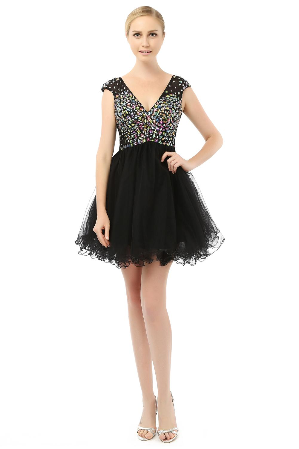Groß Short Black Cocktail Dresses Under 100 Bilder - Brautkleider ...