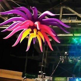 파티 / 이벤트에 대 한 2m / 3m 조명 꽃 파티 장식 풍선 꽃 스타
