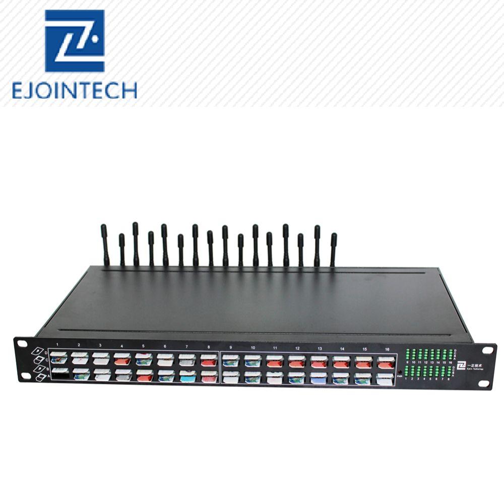 Soporte técnico gratuito de por vida! SMPP HTTP 64 rotación de tarjeta sim banco sim servidor 16 puerto gsm transmisor y receptor